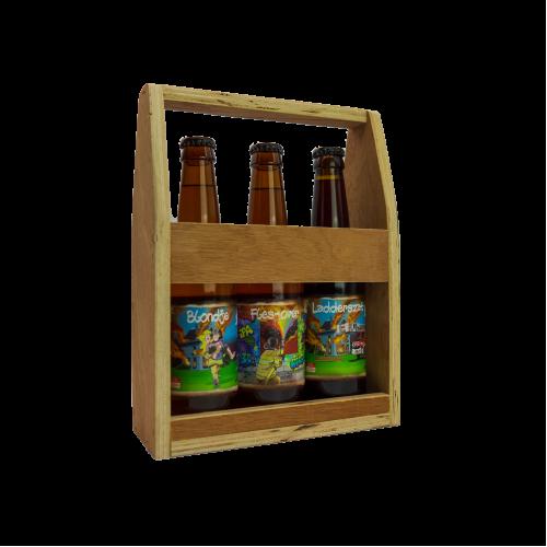 Bluswater - Mini Houten Bierkratje
