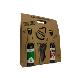 Durs 5-pack + glas Cadeau Verpakking