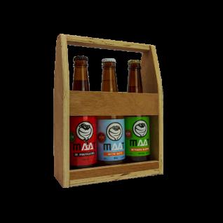 Maat – Mini houten Bierkratje