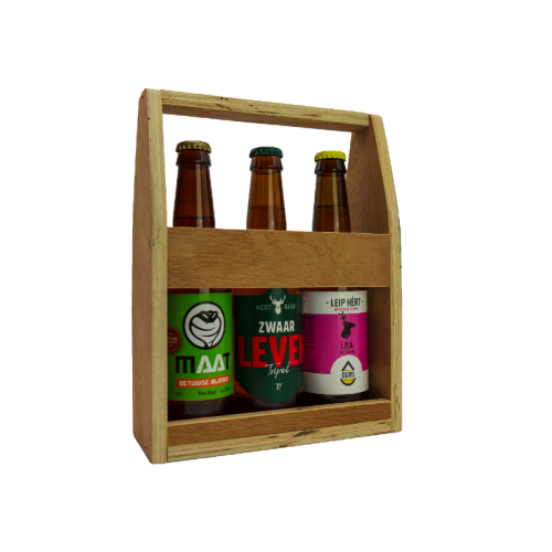 Bierkado –  Mini Houten Bierkratje