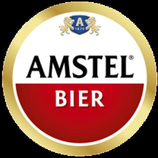 Amstel : Half kratje pils