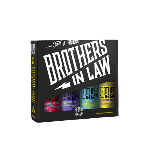 Brothers In Law Brothers Cadeauverpakking